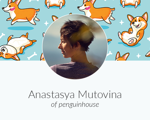 May Designer Spotlight: Meet Anastasya Mutovina of penguinhouse | Spoonflower Blog