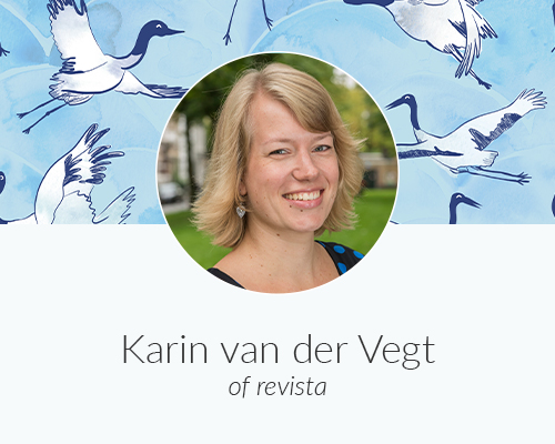 May Designer Spotlight: Meet Karin van der Vegt of revista | Spoonflower Blog
