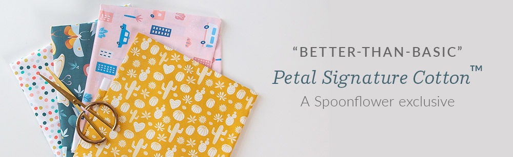 Introducing Petal Signature Cotton | Spoonflower Blog