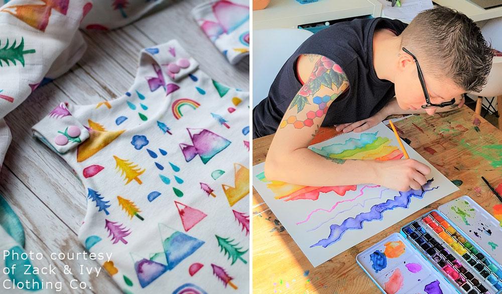 May Designer Spotlight: Meet Emery Smith of emeryallardsmith | Spoonflower Blog
