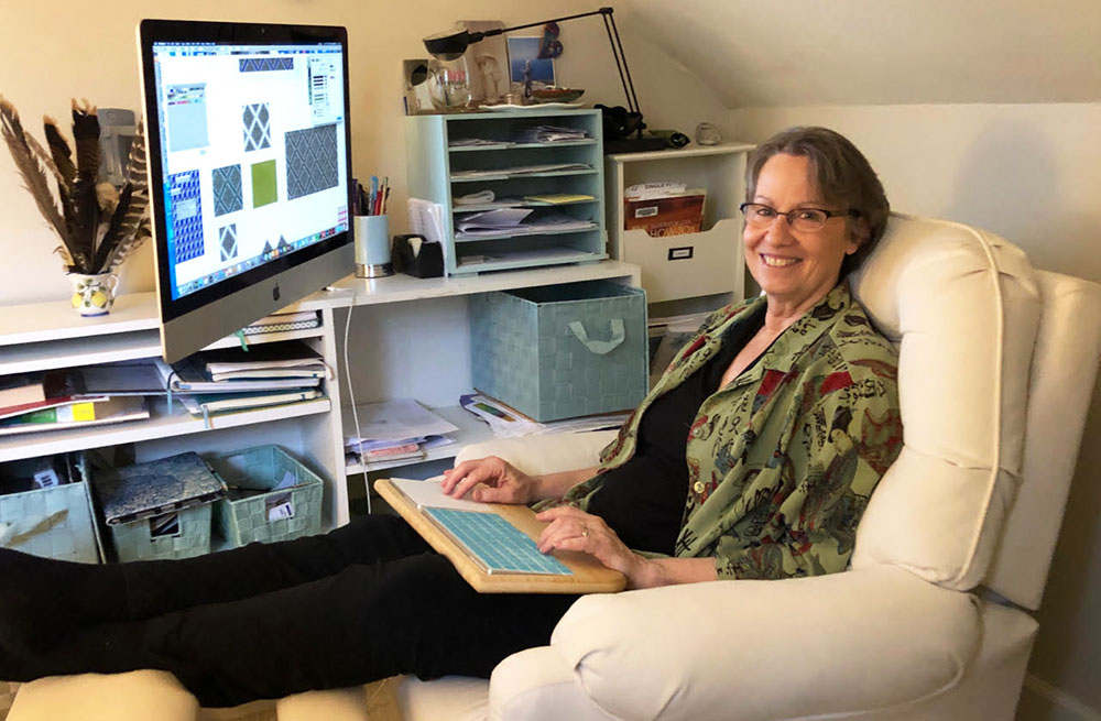 May Designer Spotlight: Meet Fern Leslie of fernlesliestudio | Spoonflower Blog