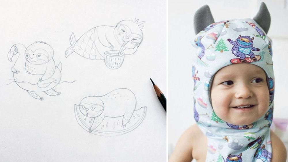 May Designer Spotlight: Meet Anastasya Mutovina of penguinhouse | Spoonflower Blog