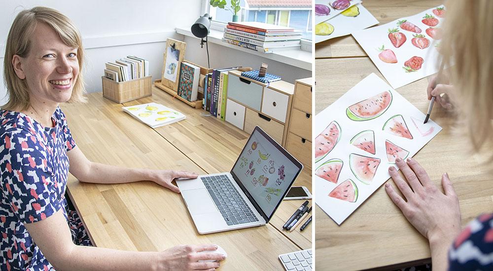 May Designer Spotlight: Meet Karin van der Vegt of revista | Spoonflower Blog