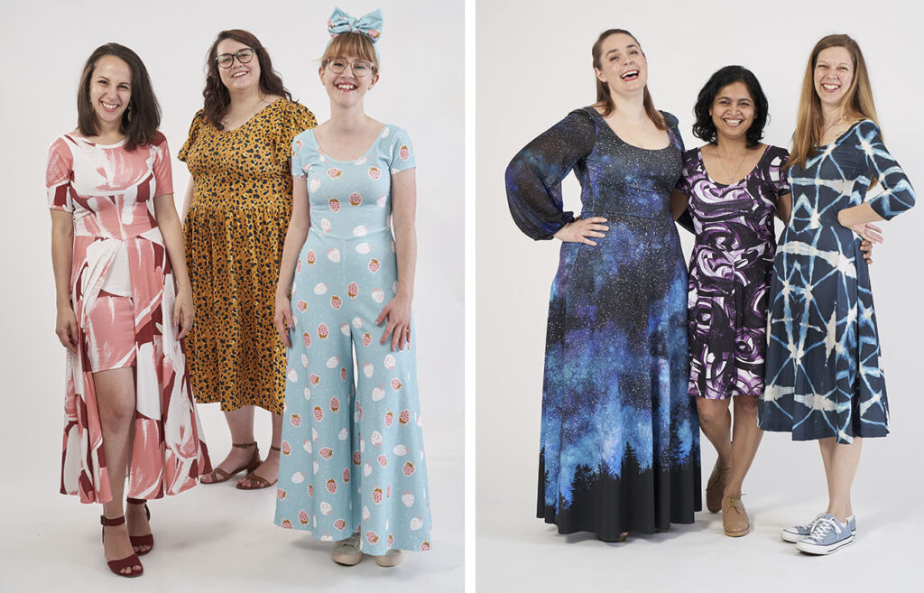 17 Ways to Style the Stasia Dress from Sew Liberated | Spoonflower Blog