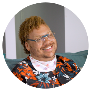 Meet J. Clapp : Spoonflower + LGBTQ Center of Durham: Pride 2019 | Spoonflower Blog