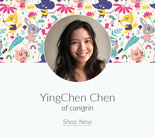 June Designer Spotlight: Meet YingChen Chen of canigrin | Spoonflower Blog