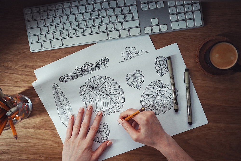 June Designer Spotlight: Meet Mary Zabaikina of adehoidar | Spoonflower Blog