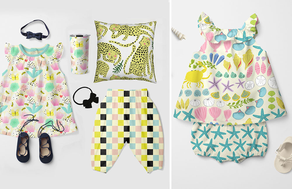 June Designer Spotlight: Meet Nadine Westcott of nadinewestcott | Spoonflower Blog