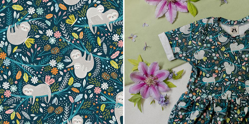 June Designer Spotlight: Sarah Knight of sarah_knight | Spoonflower Blog