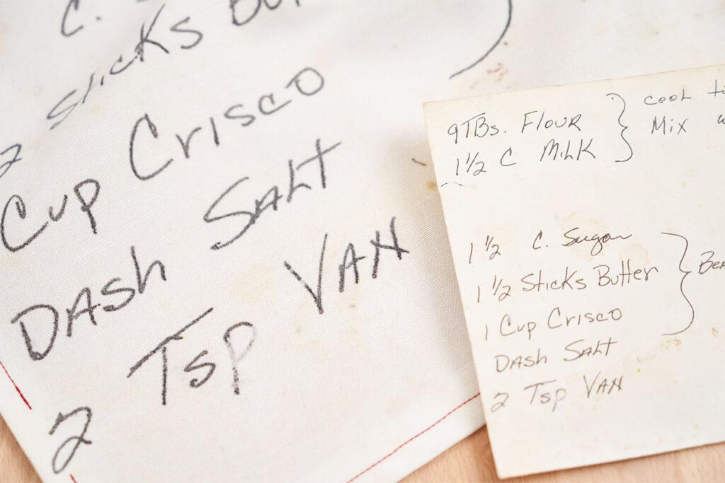 As Seen on Martha Stewart: Family Recipe Tea Towels | Spoonflower Blog