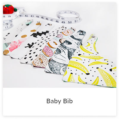 DIY Projects To Make for Your Little Ones - Baby Bib | Spoonflower Blog