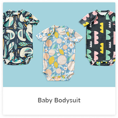 DIY Projects To Make for Your Little Ones - Baby Bodysuit | Spoonflower Blog