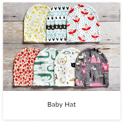 DIY Projects To Make for Your Little Ones - Baby Hat | Spoonflower Blog