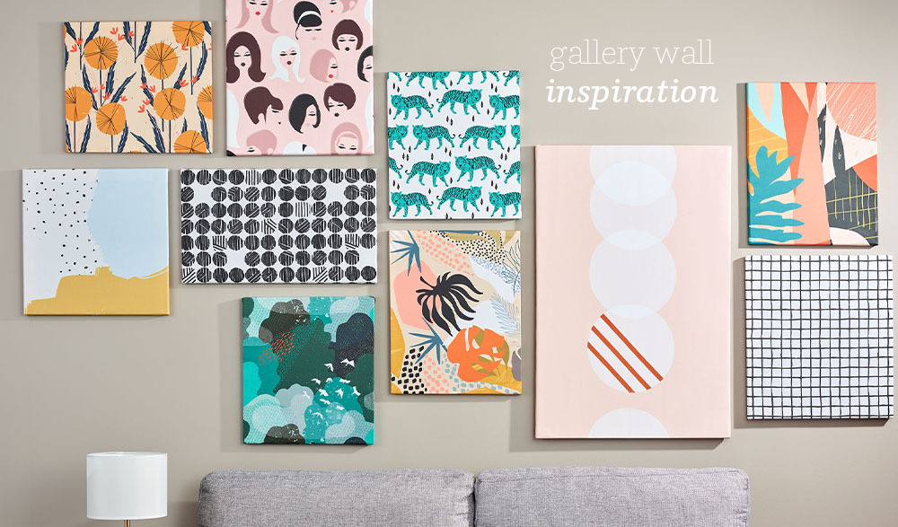 Spruce Up Your Space With a DIY Budget-Friendly Gallery Wall | Spoonflower Blog
