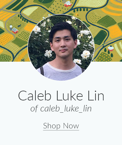 July Designer Spotlight: Meet Caleb Luke Lin of caleb_luke_lin | Spoonflower Blog