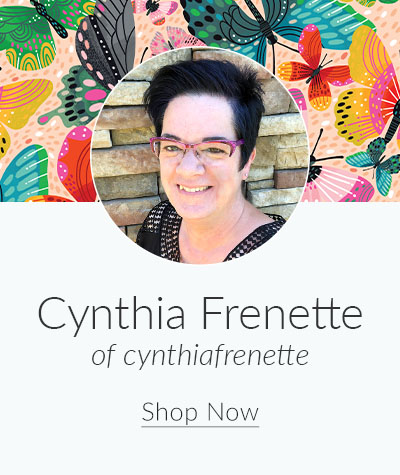 July Designer Spotlight: Meet Cynthia Frenette of cynthiafrenette | Spoonflower Blog