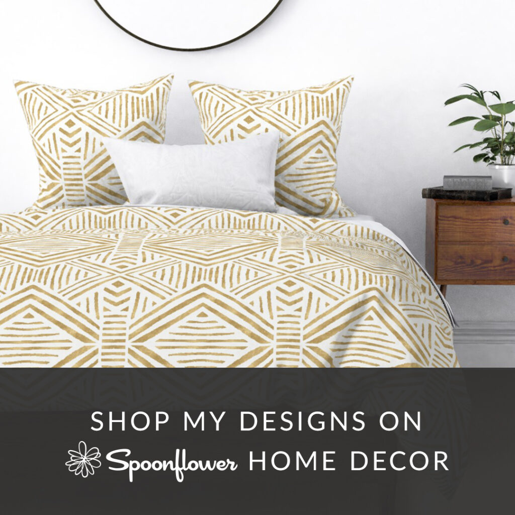 Top Tips for Marketing Your Designs on Bedding | Spoonflower Blog