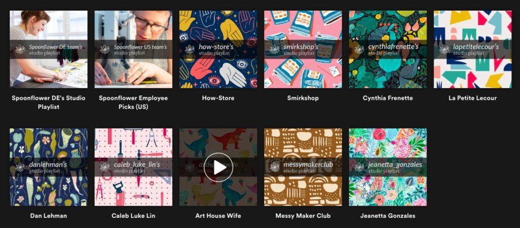 11 inspirierende Spotify Playlists für dein kreatives Studio