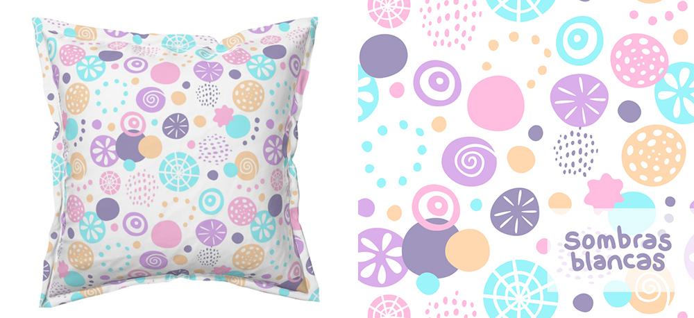 July Designer Spotlight: Meet Cristina CM of sombrasblancas | Spoonflower Blog