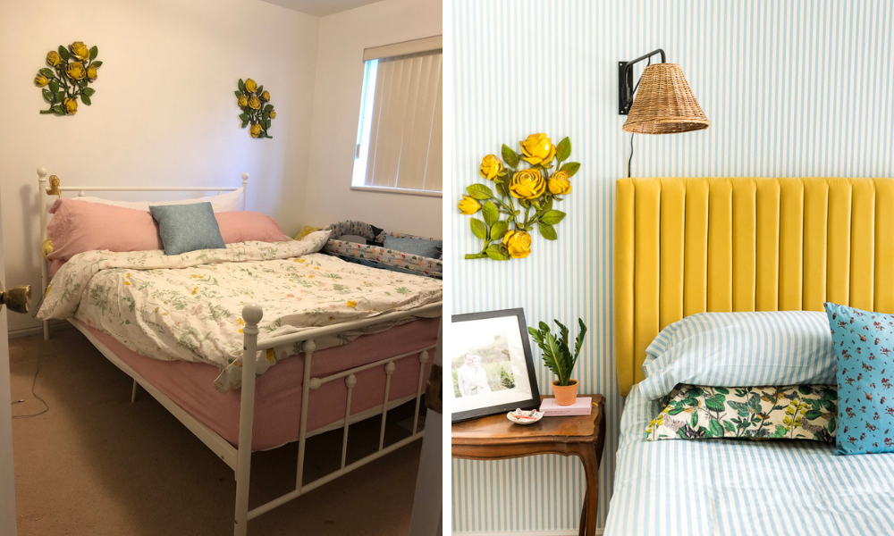 7 Bedroom Makeovers You'll Want to See in Your Home | Spoonflower Blog