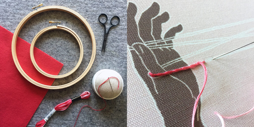 Turn Your Embroidery Into a Patch with Robert Mahar | Spoonflower Blog