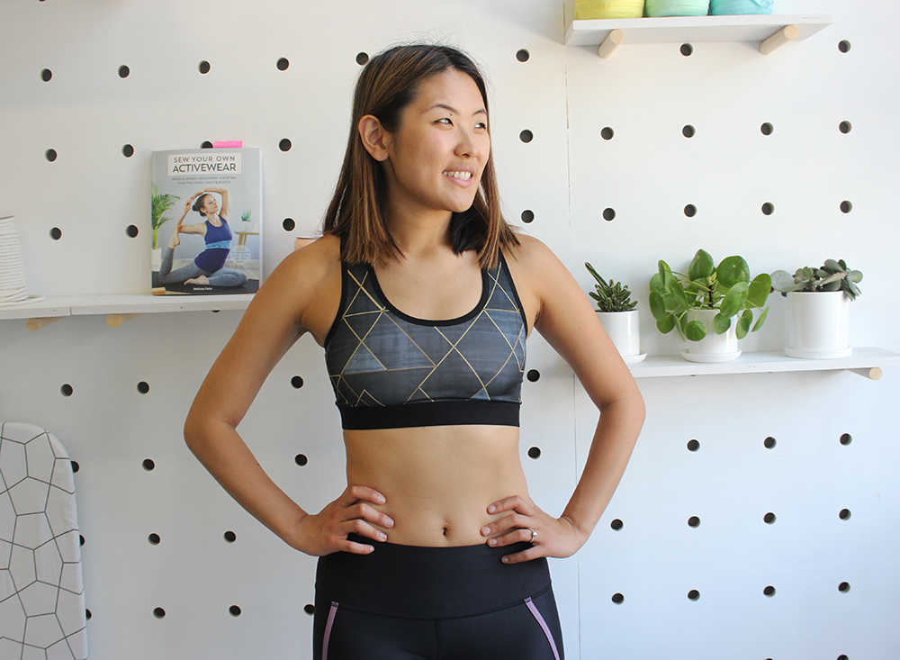 5 Sports Bras You Can Make This Weekend | Spoonflower Blog