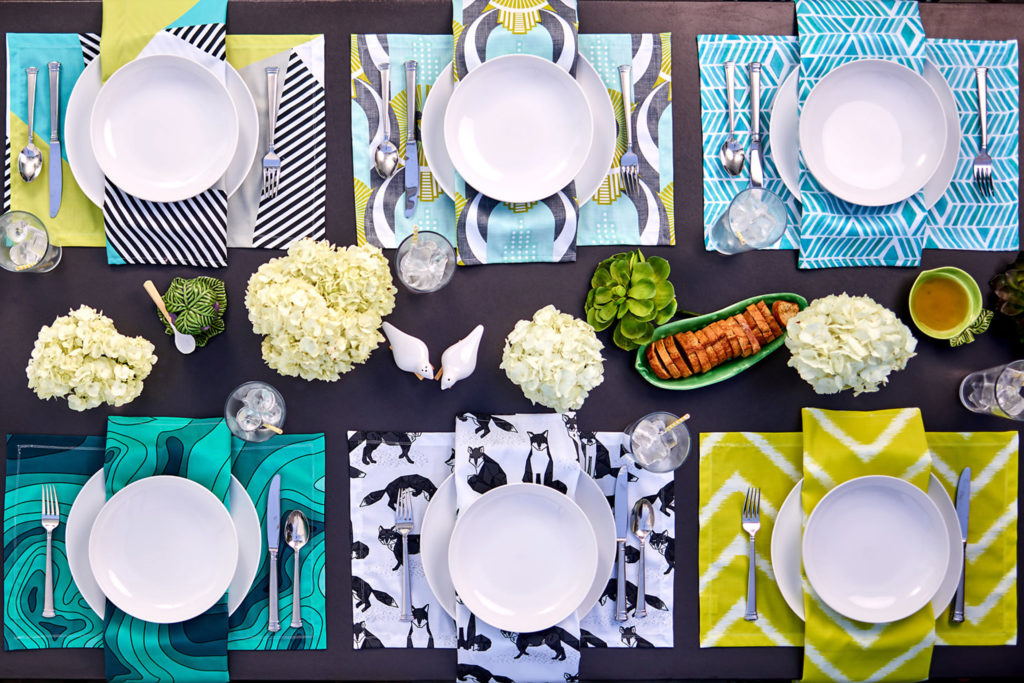Your Table, Set: Get to Know the Products Behind Spoonflower Dining | Spoonflower Blog