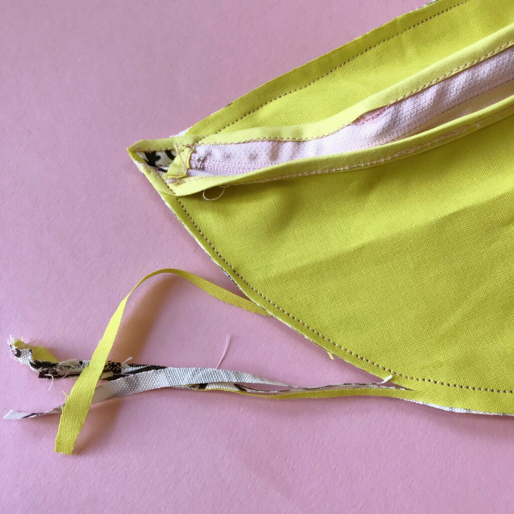 Stitch the bum bag pieces together | Spoonflower Blog