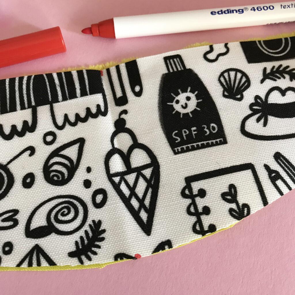 DIY fanny pack pattern piece | Spoonflower Blog