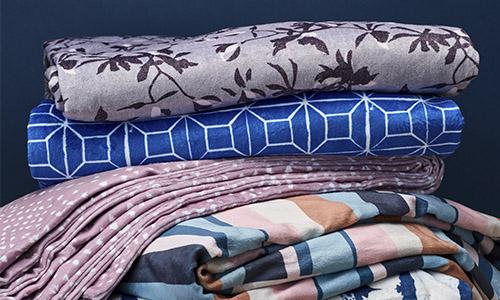 Layered Spoonflower blankets | Spoonflower Blog