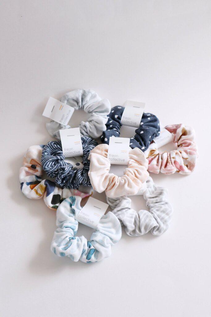Handmade scrunchies | Spoonflower Blog