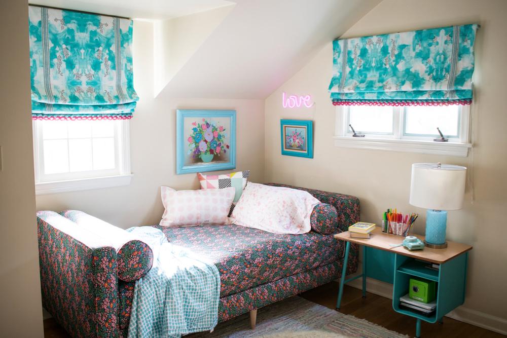 Eleanor's bedroom | Spoonflower Blog