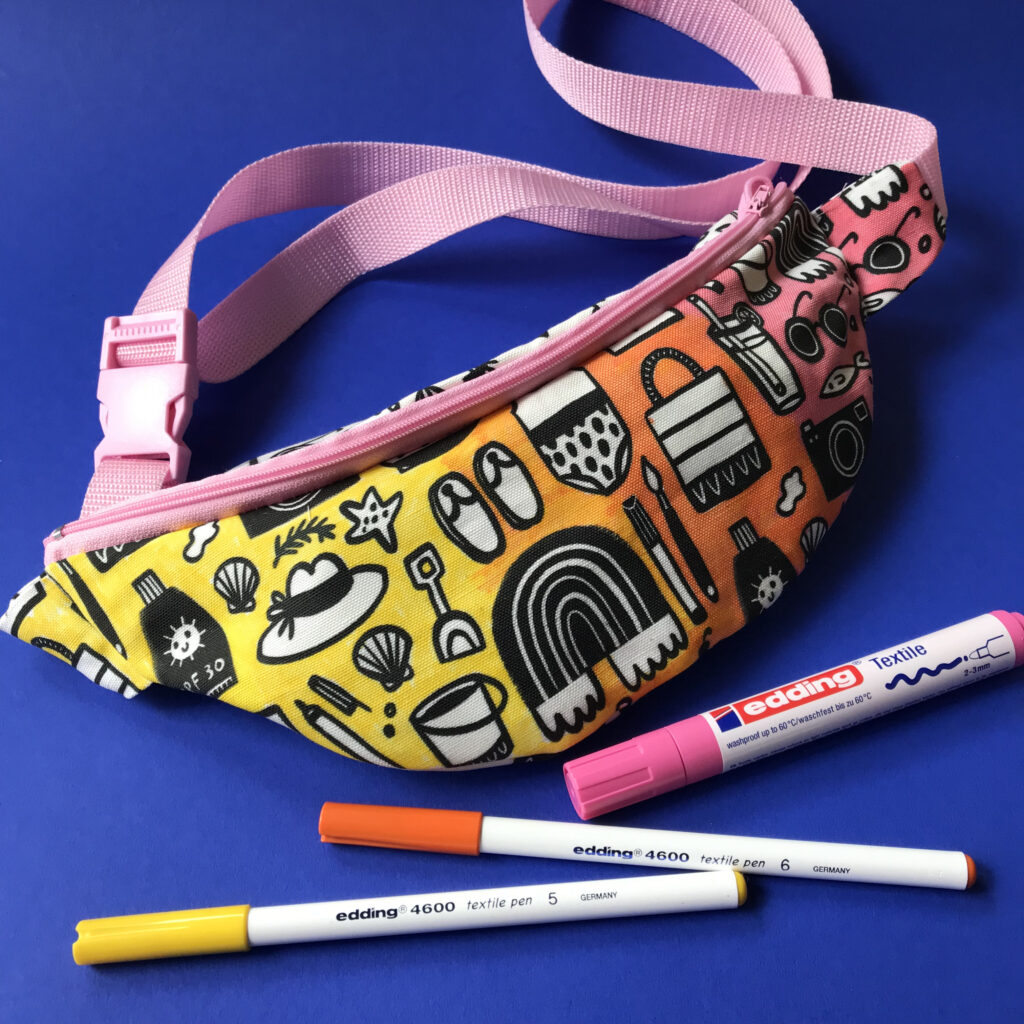 Colorful fanny pack | Spoonflower Blog