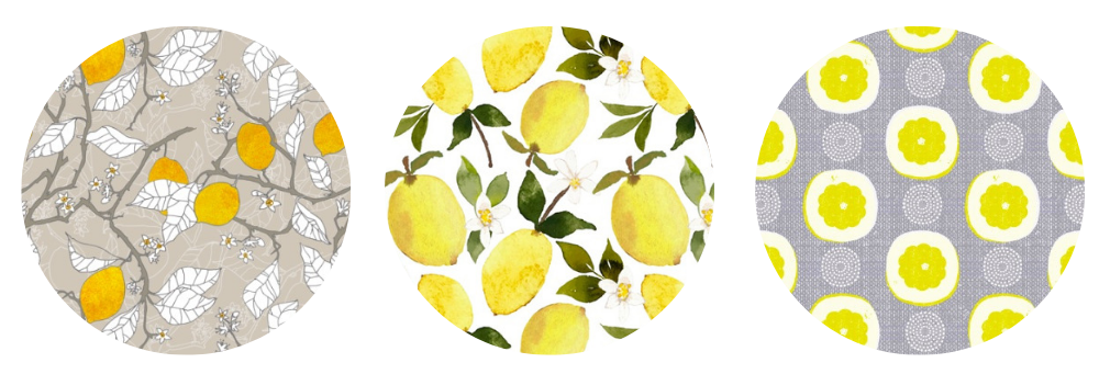Lemon wallpaper designs for your backsplash | Spoonflower Blog