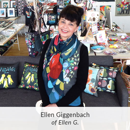 September Maker Spotlight: Meet Ellen Giggenbach of Ellen G. | Spoonflower Blog