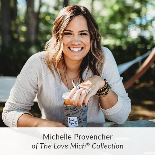 September Maker Spotlight: Meet Michelle Provencher of The Love Mich® Collection | Spoonflower Blog