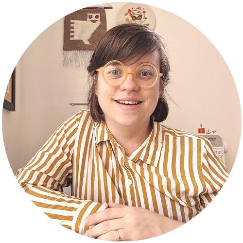 Lisa Cartrette of Bashful Birdie Handmade | Spoonflower Blog