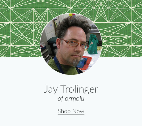 September Designer Spotlight: Meet Jay Trolinger of ormolu | Spoonflower Blog