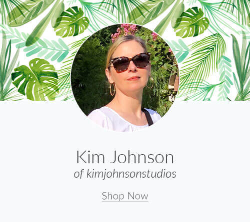 September Designer Spotlight: Meet Kim Johnson of kimjohnsonstudios | Spoonflower Blog