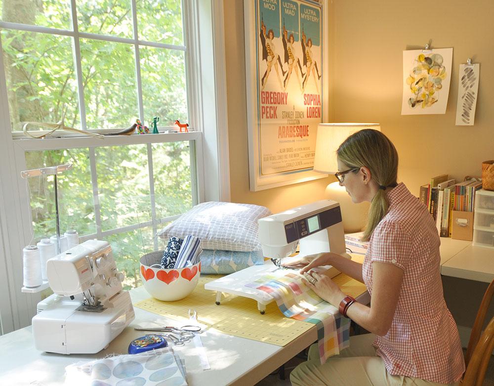 September Designer Spotlight: Meet Kim Johnson of kimjohnsonstudios   Spoonflower Blog