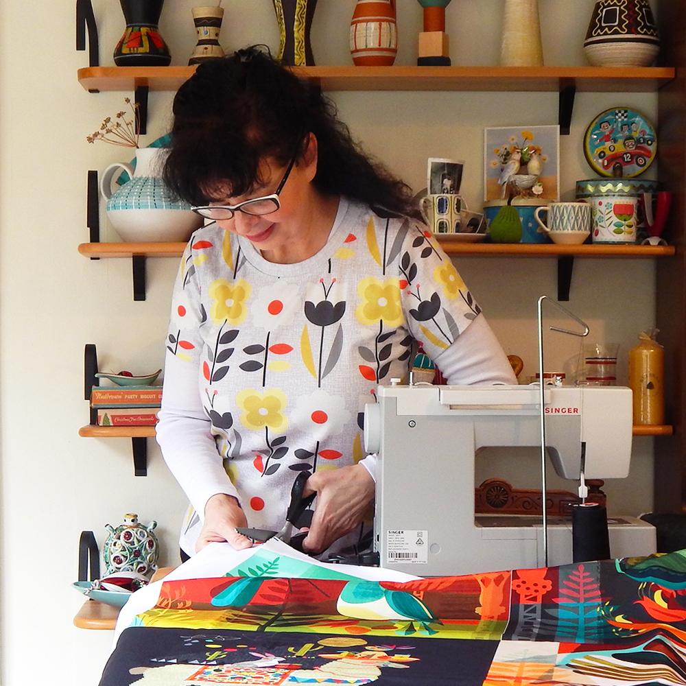 September Maker Spotlight: Meet Ellen Giggenbach of Ellen G. | Spoonflower Blog