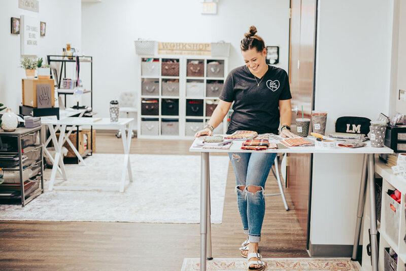 September Maker Spotlight: Meet Michelle Provencher of The Love Mich® Collection | Spoonflower Blog
