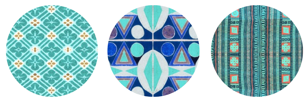 Teal designs by Hypersphere | Spoonflower Blog