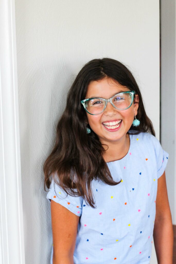 First day of school picture | Spoonflower Blog