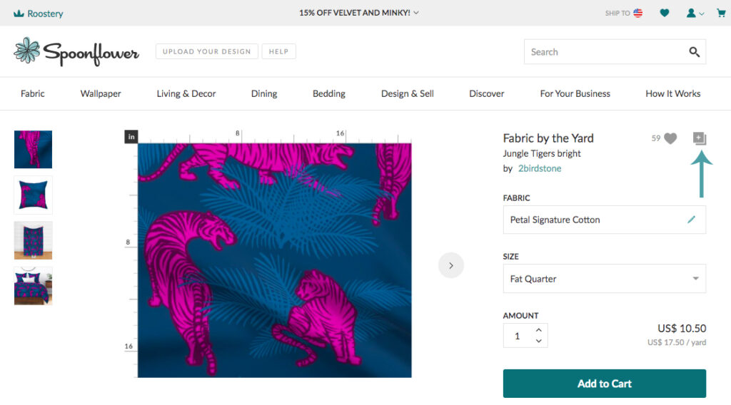 Create a collection to save your designs | Spoonflower Blog