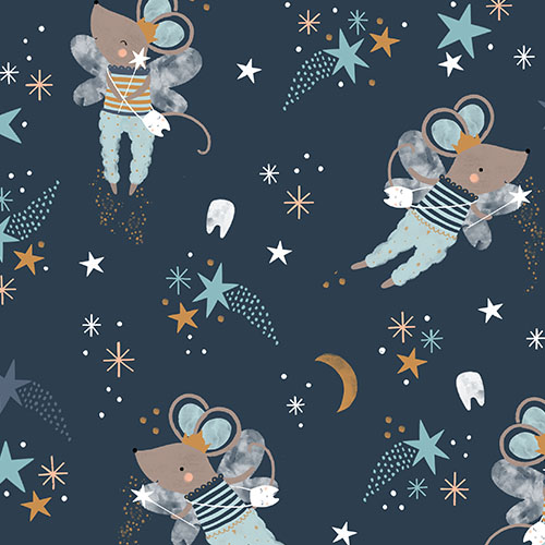 Alfie Mouse Repeating Fabric Design | Spoonflower Blog