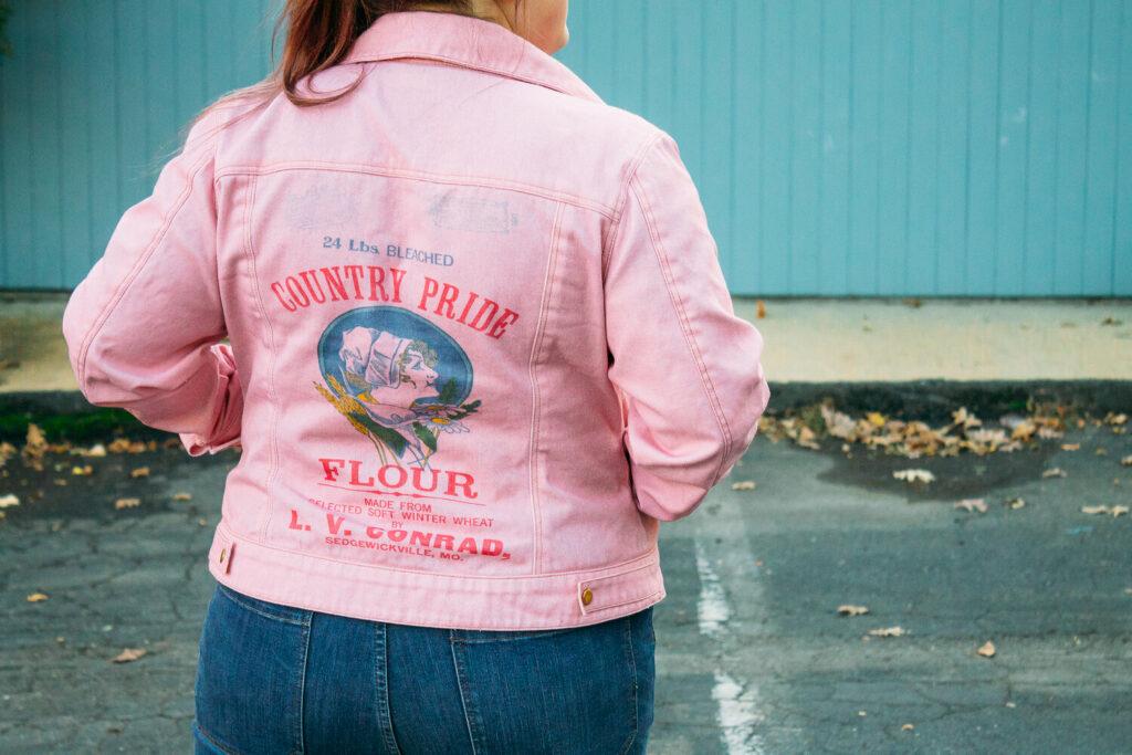 Family heirloom DIY denim jacket | Spoonflower Blog