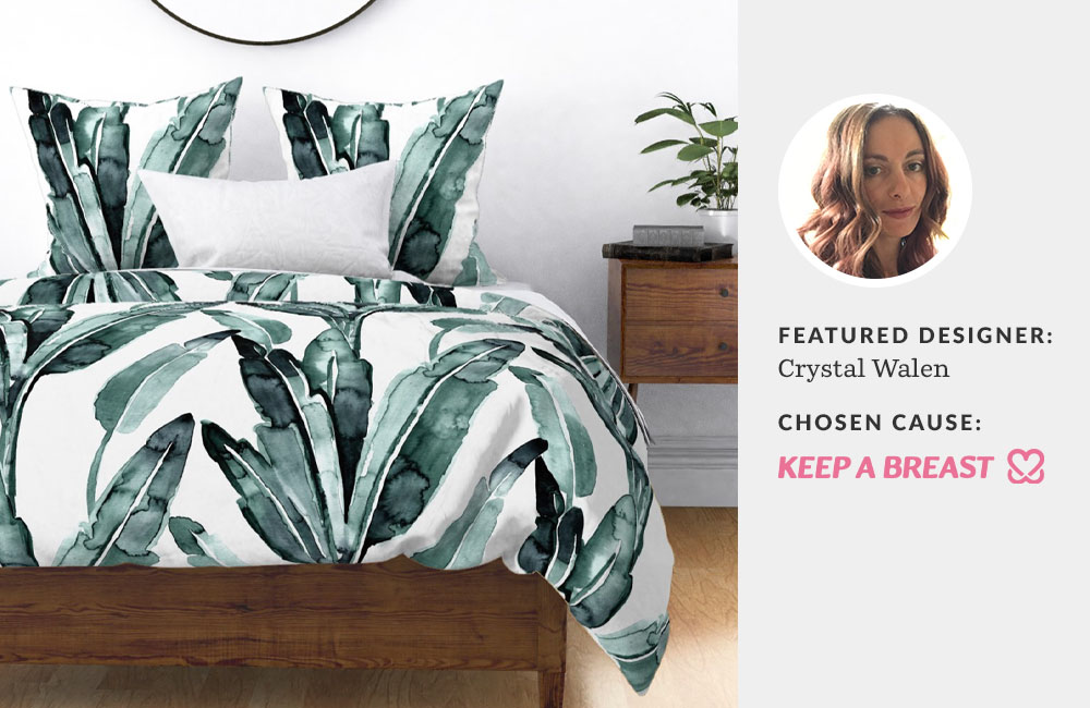 Featured designer: Crystal Walen | Spoonflower Blog
