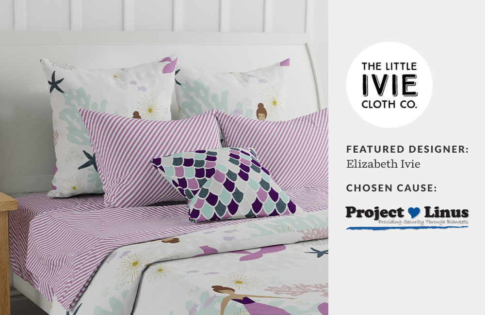 Elizabeth Ivie chose Project Linus as her Made for Good charity of the week | Spoonflower Blog