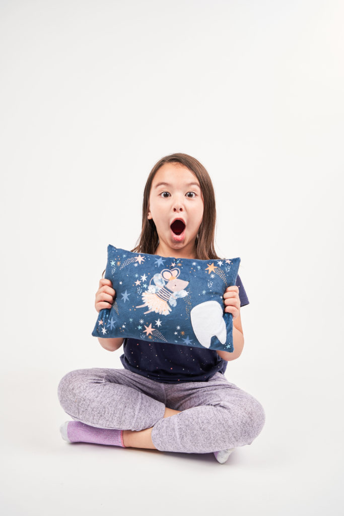 Susan the Mouse - DIY tooth fairy pillow | Spoonflower Blog